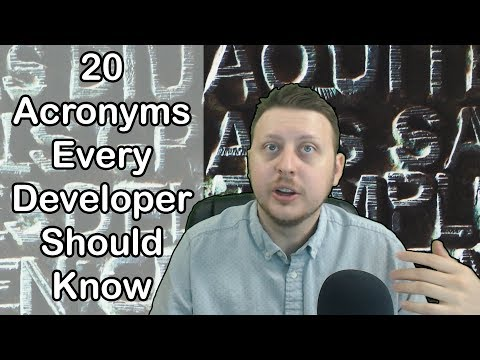 20 Acronyms Every Developer Should Know | Part 1 | Ask a Dev