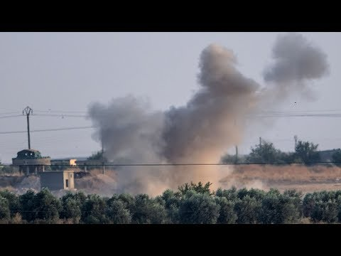 Turkey launches a military offensive against Kurdish-led forces on Syrian border