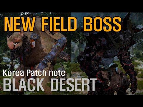 [BONG] Black desert New field Boss (Quint, Muraka)