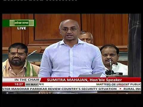 050516:Jayadev Galla on making penal provisions stringent against perpetrators of animal cruelty