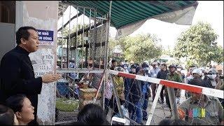 Luật đất đai là mọi rợ - Lm. Giuse Nguyễn Duy Tân chia sẻ nỗi đau với dân Vườn Rau Lộc Hưng