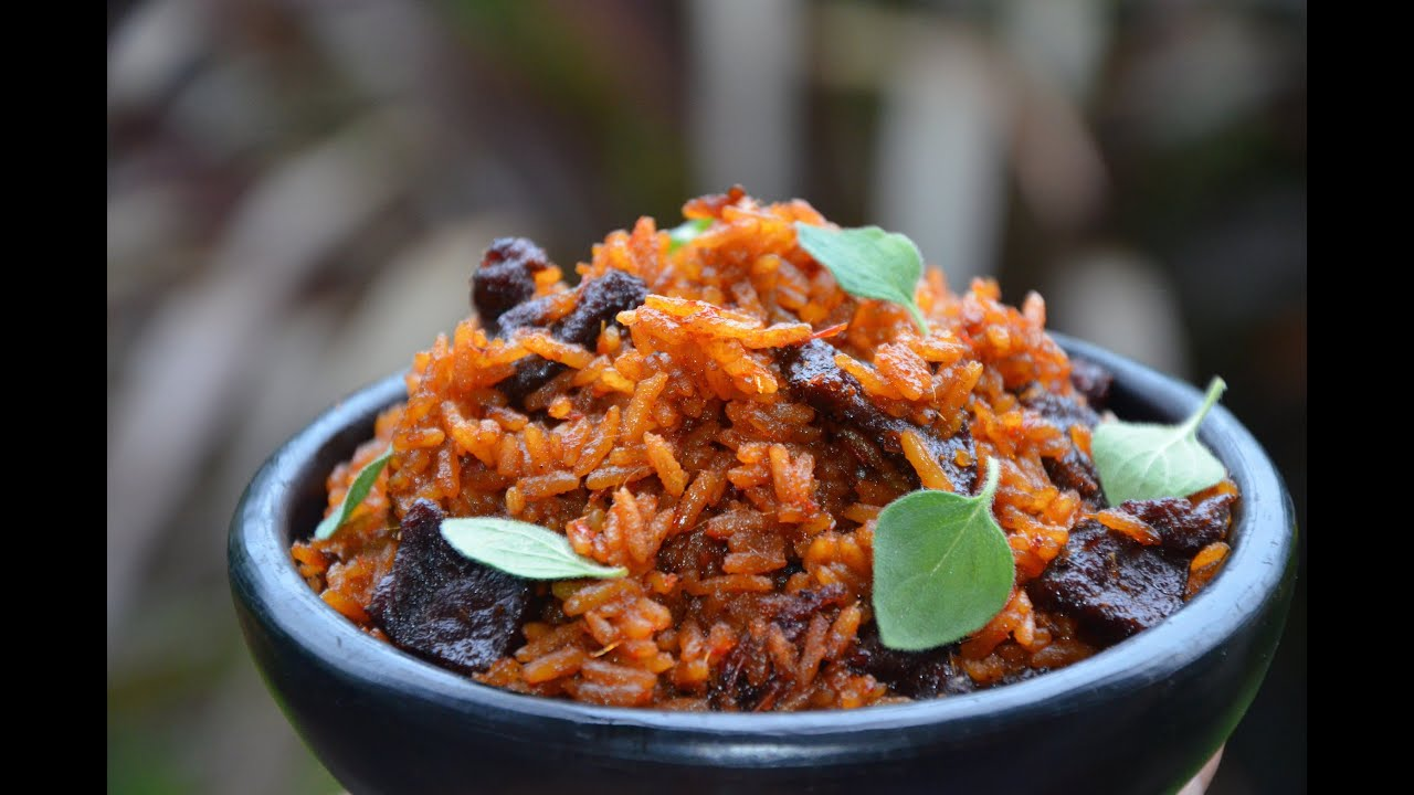 how to cook sweet jollof rice