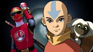 Avatar: The Last Airbender (Power Rangers: Ninja Storm Style!)