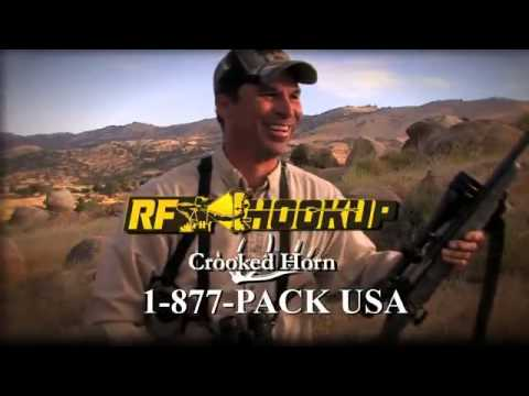 crooked horn outfitters rf hook up binocular/harness rangefinder
