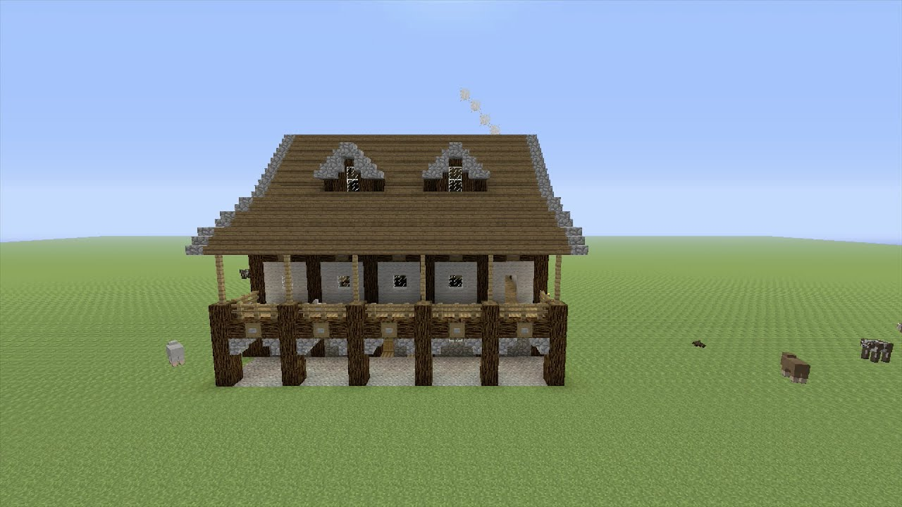 How to Build a Medieval Bar in Minecraft - Part 1 - Youube - ^