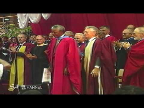 Nelson Mandela receives Honorary Doctorate