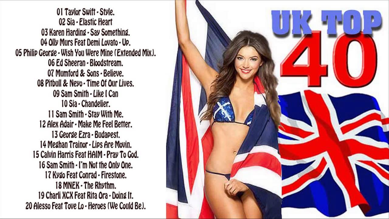 Top 10 Singles Charts Uk