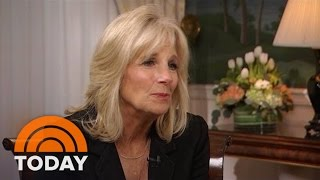 """Along with first lady michele obama, dr. jill biden, a prominent educator as well wife of vice president joe helped launch """"joining forces,"""" nati..."""