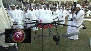 Drones for Good: $1m competition in Dubai - BBC Click