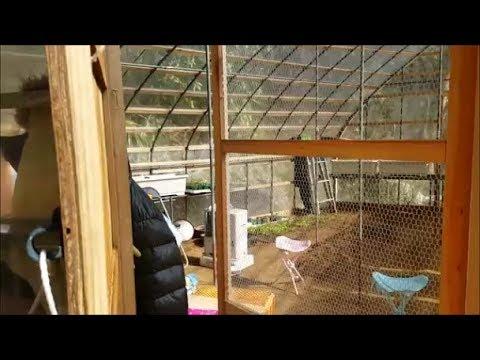 【DIY】父が一人で考えて作ったビニールハウスの改良点