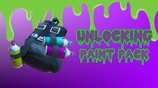 Unlocking Paint Pack | FORTNITE