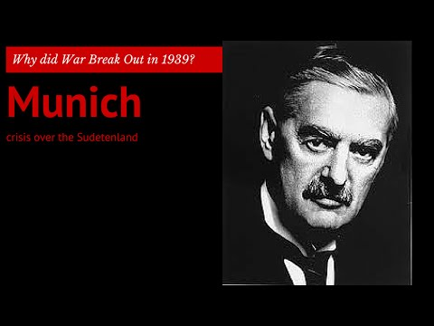3: GCSE History - the Munich Crisis over the Sudetenland