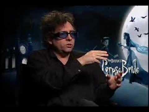 Tim Burton interview for Corpse Bride