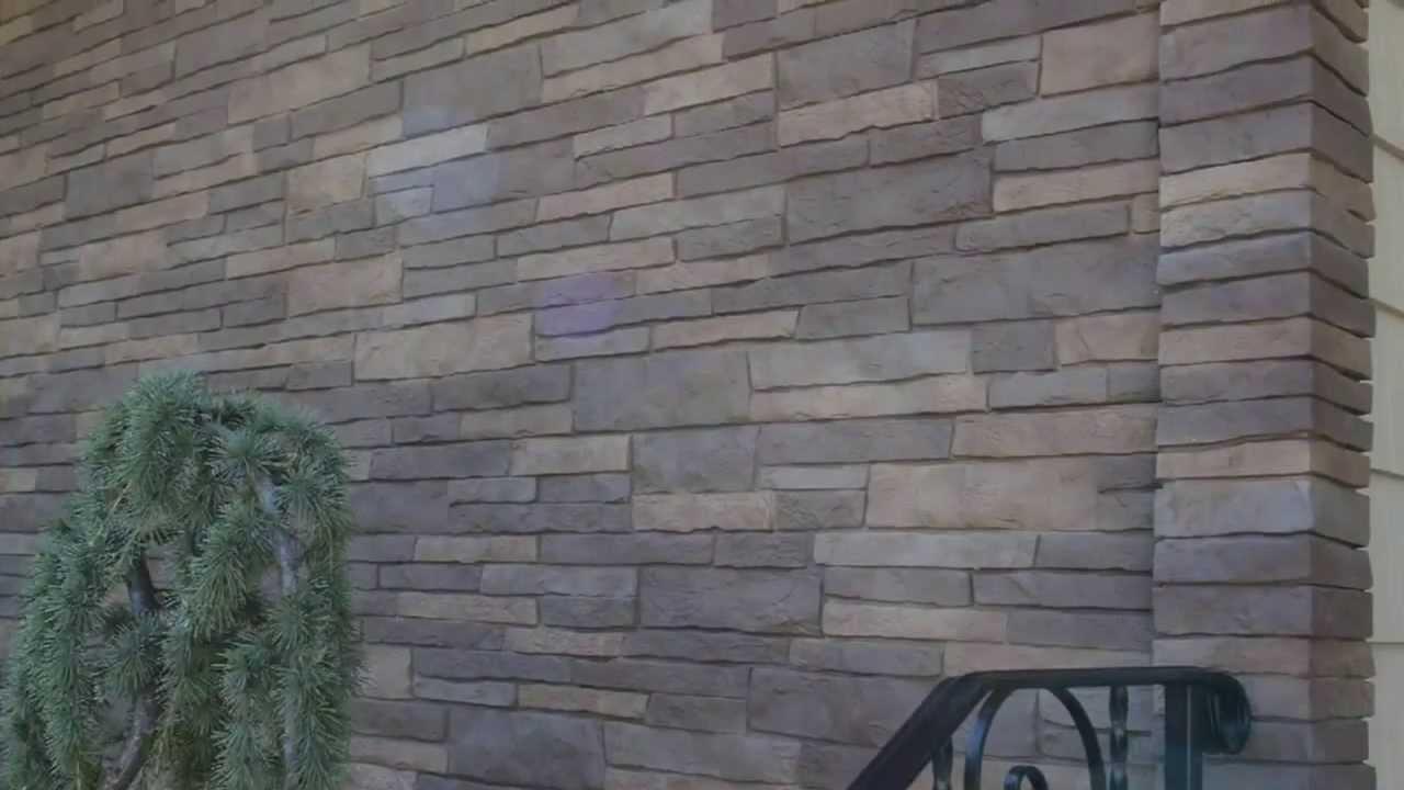 Монтаж цокольного сайдинга под камень - Nailite Stacked Stone