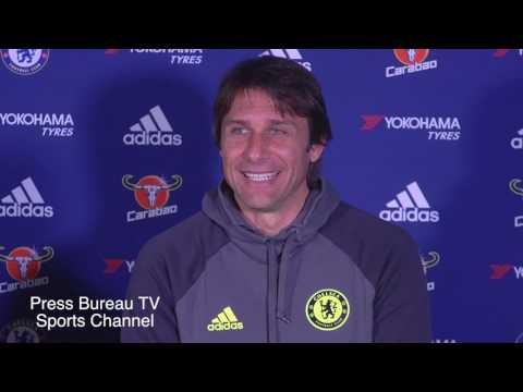 Antonio Conte pre West Brom vs Chelsea