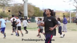 Precision Sports Football Skills Clinic