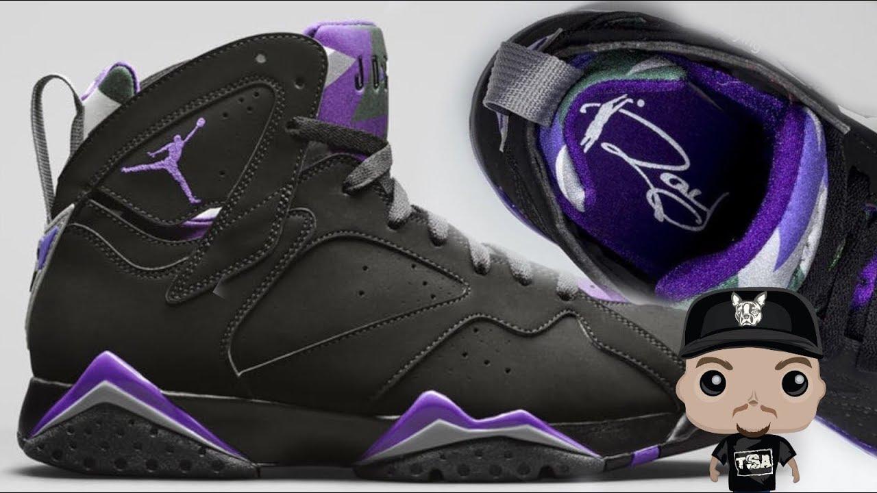online store db988 747e7 Air Jordan 7 Ray Allen PE 2019 Retro Sneaker #nba #rayallen #airJordan  #sneakerhead