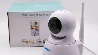 Беспроводная Мини Wi-Fi камера 720 P Бренд : #Smar от Магазина : #smar_Official_Store / Видео