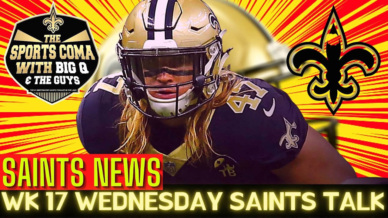 New Orleans Saints Notes in Week 17