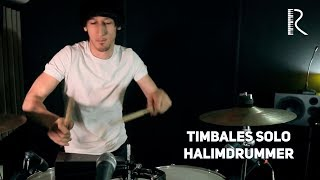 Timbales solo (HALIMDRUMMER)