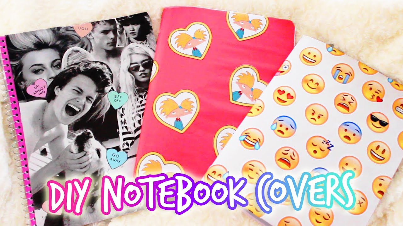 Case Design diy starbucks phone case : DIY Tumblr Notebook u2661 Back to School - YouTube