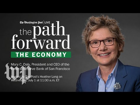 Fed Reserve Bank Of San Francisco President And CEO Mary Daly On Economy (Full Stream 7/1)
