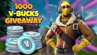 V-BUCKS GIVEAWAY AND NEW GAME MODE | Fortnite Battle Royale [EN/English]