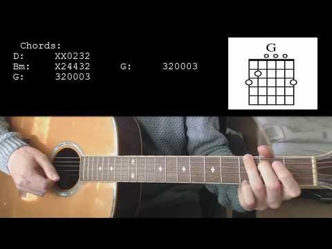 Joji - Wanted U EASY Guitar Tutorial With Chords / Lyrics