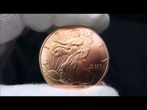 Walking Liberty 1 oz Copper Rounds Unboxing