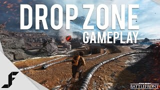 DROP ZONE GAMEPLAY - Star Wars Battlefront Gameplay