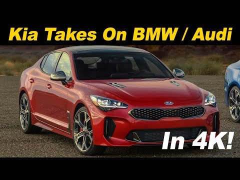 2018 Kia Stinger First Drive Review In 4K UHD