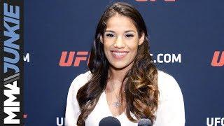 UFC on ESPN+13: Julianna Pena media day interview