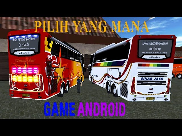 Pakai Livery Baru Sempati Star - Mobile Bus Simulator Game Simulator Android