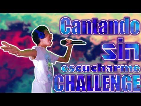 Cantando Sin Escucharme Challenge | *se me fue la voz* | El Changuito