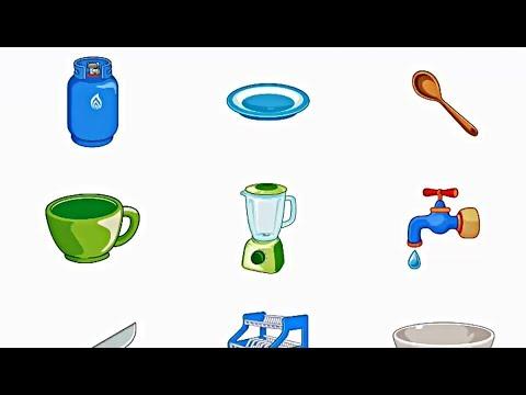 Belajar Bahasa Inggris Mengenal Benda Di Dapur Edukasi Anak