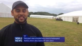Volunteers prepare site for UK Khuddam Ijtema 2016