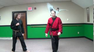 Tigon Martial Arts: Shaolin Kempo Roudhouse Kick Defense Strategy