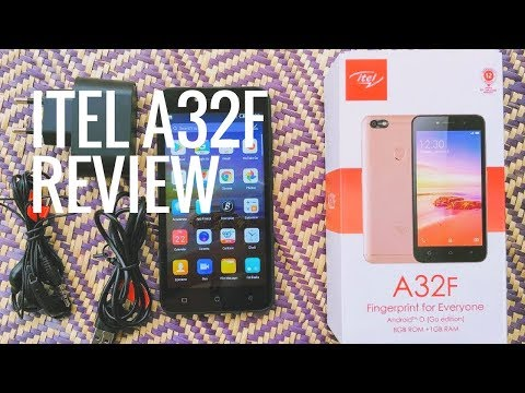 Itel's N20,000 Smartphone - The iTel A32F Full Review , Unboxing And Specifications