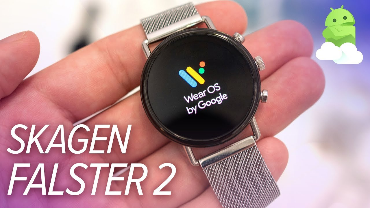 5c815006c Skagen Falster 2 Hands-on: The best new Wear OS watch? - YouTube