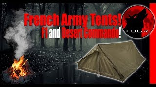 You Will Want to See This Tent! - French Army Desert Commando Tent thumbnail