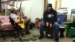 Cajon & acoustic guitar Van Morrison cover