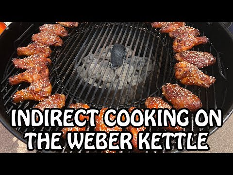 4 INDIRECT Charcoal Grilling Set Ups On The Weber Kettle | How To Barbecue | 4K