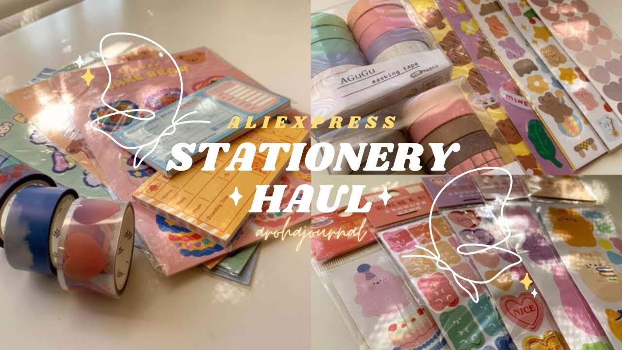 stationery haul #3 ∥ aliexpress haul ✨