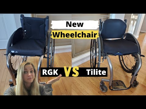 My New Wheelchair: RGK vs Tilite Review