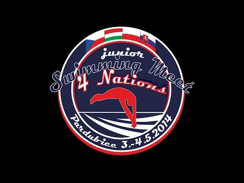 Junior 4 Nations swimming meet - 1500 freestyle boys