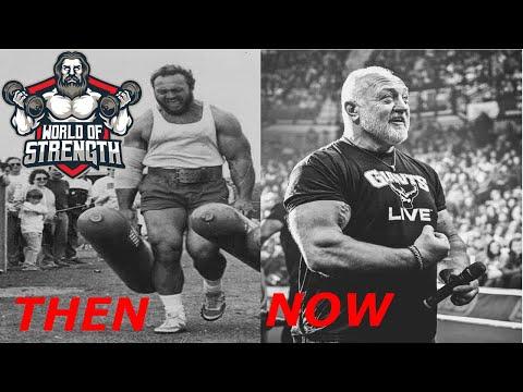 The 3x World's Strongest Man BILL KAZMAIER THEN & NOW !!