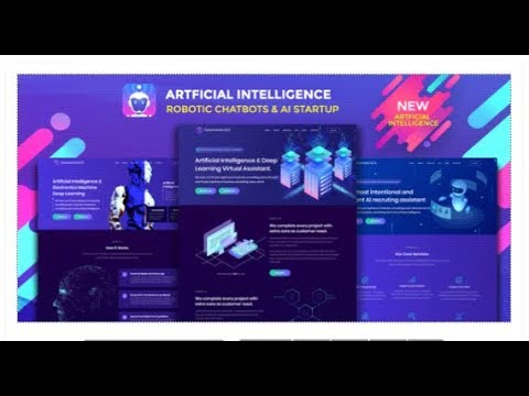 Robotizer - Chatbot & AI Startup Agency Template | Themeforest Templates