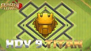 Clash Of Clans [] Village hdv 9 rush titan - speed bulding -