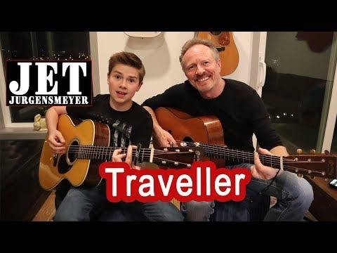 Chris Stapleton-Traveller [acoustic cover by Jet Jurgensmeyer]