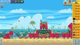 Angry Birds Friends Carnival Days Tournament ● LEVEL 5 ● 224 K HD ● Week 193 ●  POWER UP